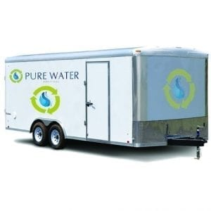 Mobile Filtration Reverse Osmosis For Swimming Pools