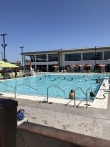 Commercial Pool Water