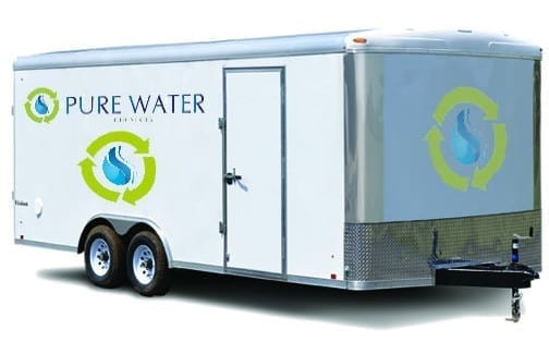 Pure Water Logo Trailer