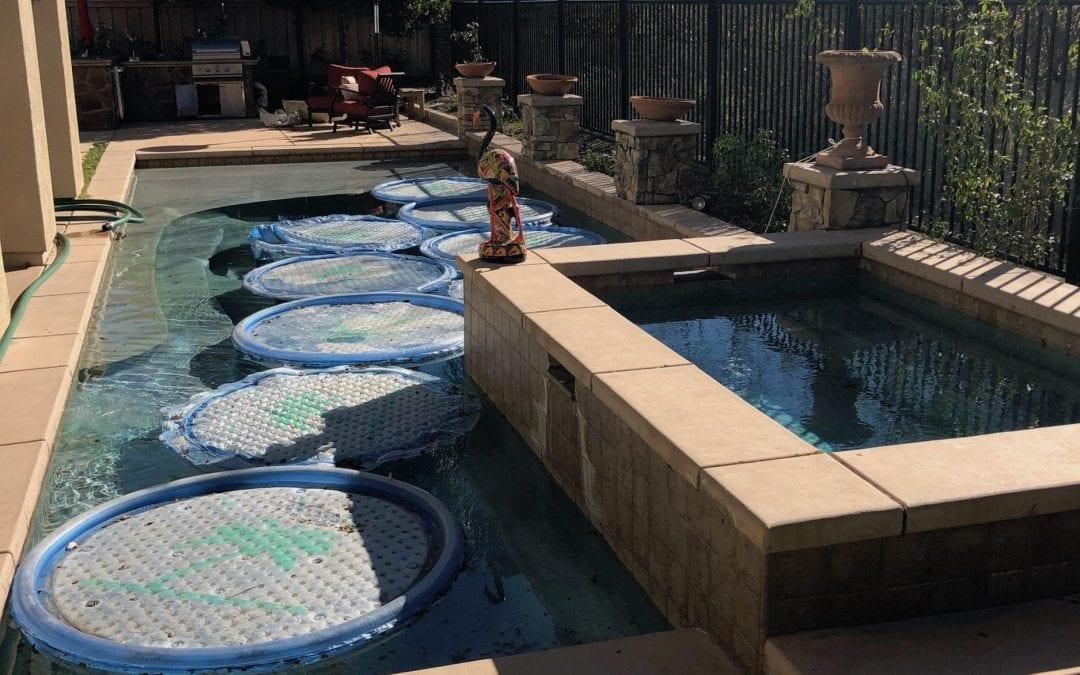 Lowering CYA in Your Swimming Pool