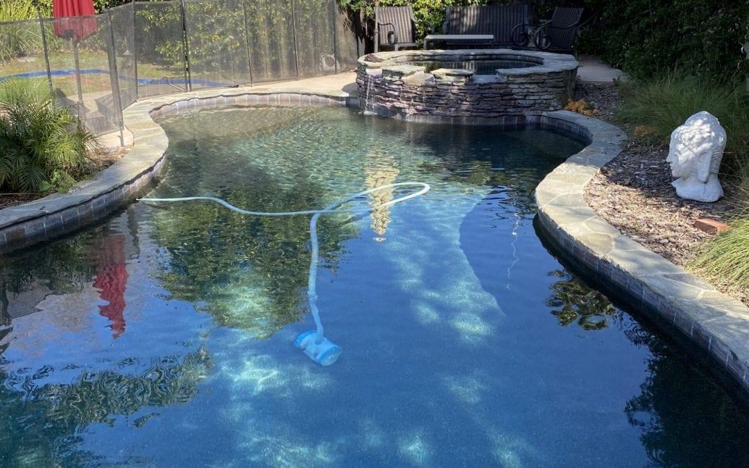Lowering CYA in Swimming Pools